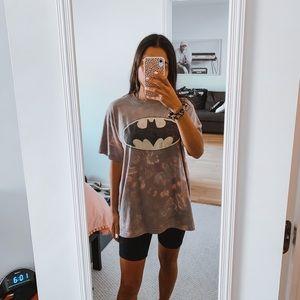 Batman Tie Dye Oversized T Shirt